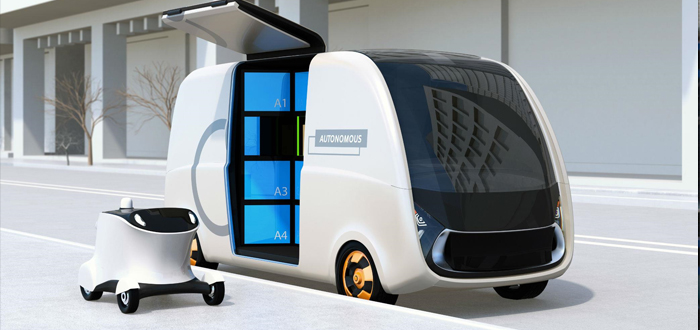 Image of the future of home delivery