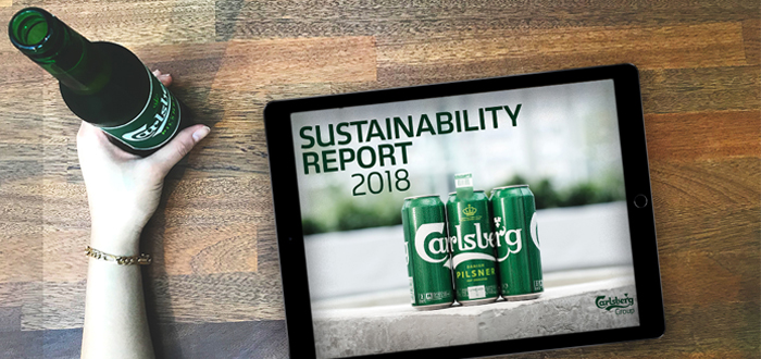 Carlsberg Takes Sustainability To Consumers And Reports Steady Progress Against 2030 Targets.