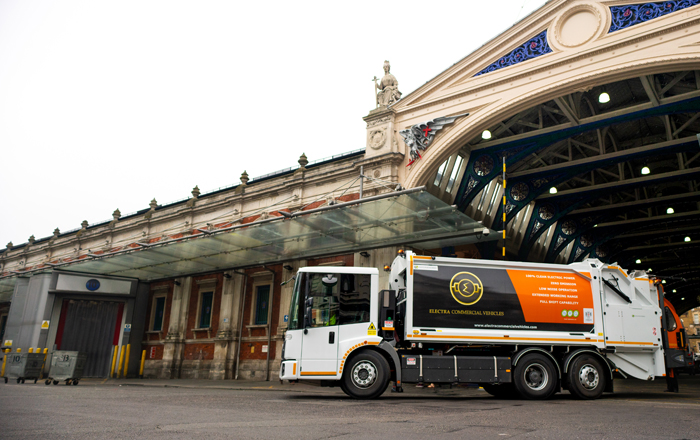 Plans For UK's First Fully Electric Refuse Fleet As Veolia Signs New Tech-Driven City Waste Contract.