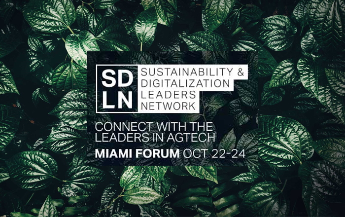 SDLN: The Leading AgTech Networking Forum.