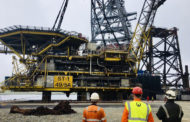 Decommissioning In Shetland Expands With The Arrival Of More North Sea Structure.