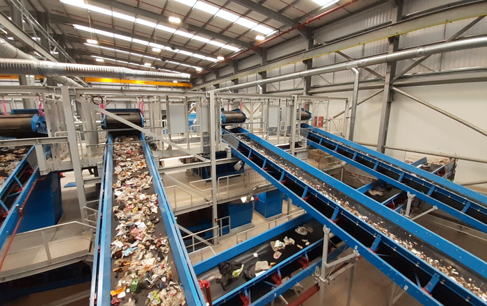 Viridor's Bargeddie Recycling Hub Nears Completion.