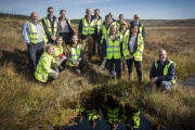Win-Win For Water Quality And The Environment Following NI Water's Garron Plateau Bog Restoration.