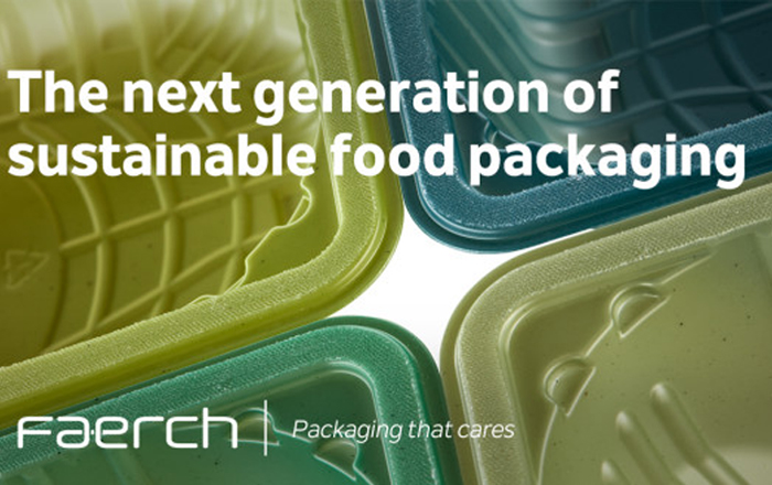 Faerch Launches New Packaging Solution Made From 100% Recycled Content.