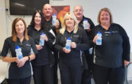 County Down Hairbrush Company 'Trim' Plastic For NI Water's Refillution!