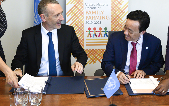 FAO And Danone Team Up To Foster Sustainable Diets And Food Systems Worldwide.