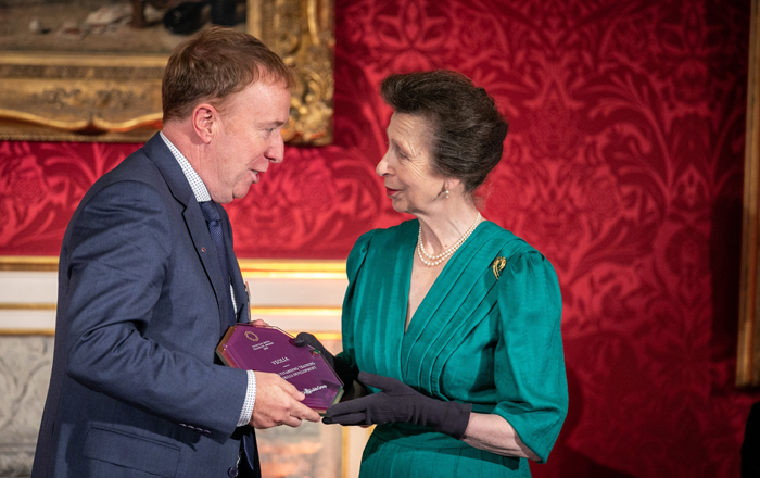 Veolia Gains Royal Recognition For 'Respect At Work' Training.